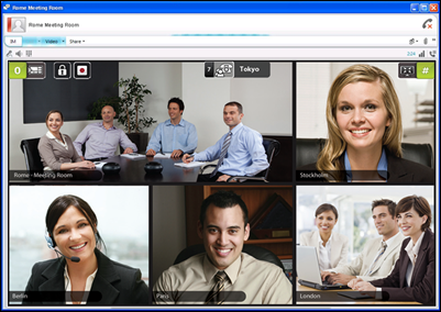 video conference system راهکار ویدئو کنفرانس نرم افزاری Software Video Conferencing شرکت مهندسی شبکه پال نت